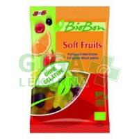 Allexx Bio gumové bonbony zahradní ovoce 100g