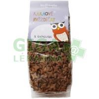 Bio kakaové hvězdičky s rapadurou 150g