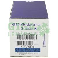 Inj. jehla BD Microlance 23G 0.60x25 modrá 100ks