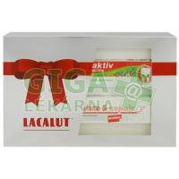 Lacalut luxusní dárkové balení herbal+white repair 2x75ml