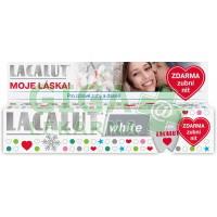 Lacalut white vánoční bal. + zubní nit ZDARMA 75ml
