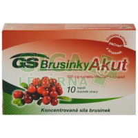 GS Brusinky Akut 10 kapslí
