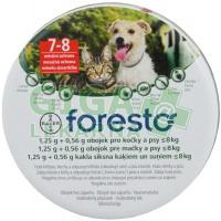 Foresto 1,25g+0,56g obojek pro kočky a psy do 8kg