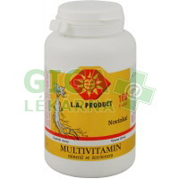 Multivitamin-minerál s ženšenem 100 tablet