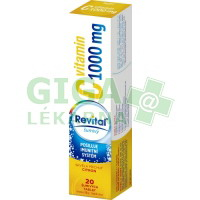 Revital C vitamin 1000mg Citron 20 šumivých tablet