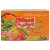 Apotheke Kolekce ovocných čajů 48 nálevových sáčků