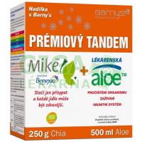 Barnys PRÉMIOVÝ TANDEM Aloe 500ml+Chia250g