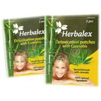 Herbalex detoxik.náplast s konopím 2ks