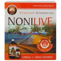 NoniLive akční balení 1000ml + 300ml zdarma