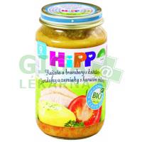 HiPP JUNIOR MENU BIO Brambory s rajčaty a kuřetem 220g