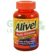 Alive! Multi-Vitamin ADULT GUMMIES 50ks