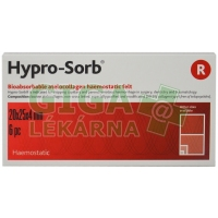 Hypro-Sorb R hemostat.obvaz 20x25mm 6ks