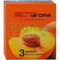 Prezervativ Act-broskev 3ks