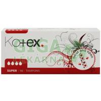 DH tampóny Kotex Super Tampons 16ks