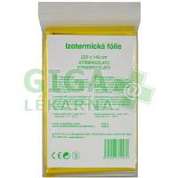 Izotermická folie Fixaplast 220x140 stříb.-zlato