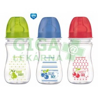 CANPOL Láhev EasyStart Fruits 240ml 0% BPA 3035213