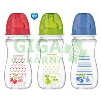CANPOL Láhev EasyStart Fruits 300ml 0% BPA 3035211