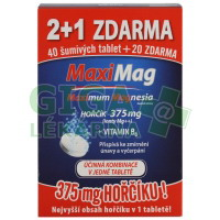 Zdrovit Maximag Hořčík 375mg+B6 /3x20šum.tbl./