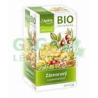 Apotheke BIO Zázvorový čaj s pomerančem 20x1,5g
