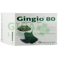Gingio 80 120 tablet