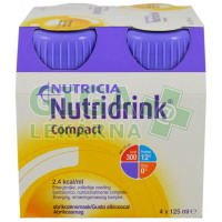 Nutridrink Compact 4x125ml Meruňka