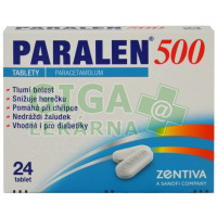 Paralen 500mg 24 tablet