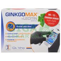 GinkgoMAX + Lecitin 90+15 tobolek +dárek DaVinci
