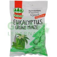 Kaiser Eukalyptus zelená máta bez cukru 85g