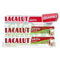 Lacalut Aktiv Herbal 2+1 Lacalut aktiv