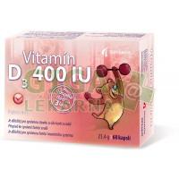 Vitamín D3 400 IU cps.60 Noventis