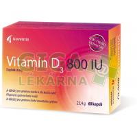Vitamín D3 800 IU cps.60 Noventis