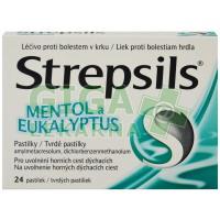 Strepsils Mentol a eukalyptus orm.pas.24 I