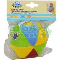 Canpol Babies plyšové chrastítko míč 1 ks