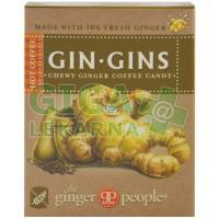 GIN GINS HOT COFFEE zázvorové žvýkací bonbony horká káva42g