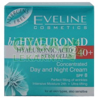 EVELINE BIO Hyaluron 4D day+night cream 40+ - 50ml