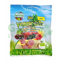 Allexx Bio gumové bonbony EKOVITAL Veggie 100g