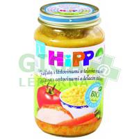 HiPP Dětské menu BIO Rajčata s těstovinami a telecím masem 220g
