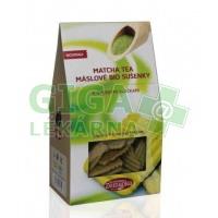 Bio sušenky Matcha tea s ovesnými vločkami 100g