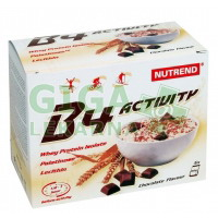 NUTREND B4 ACTIVITY, 5x60 g, čokoláda
