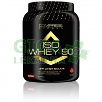 NUTREND COMPRESS ISO WHEY 90, 1000 g, banán