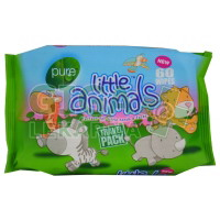 Pure Little Animals Travel Pack 60ks