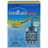 Glukometr EasyGluco s 25ks proužků + 25 lancet
