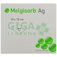 Krytí Melgisorb Ag 10x10cm absorpční sterilní 10ks