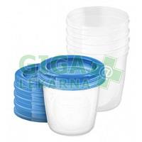 AVENT VIA pohárky s víčkem 180ml 5ks