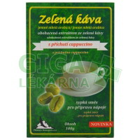 Zelená káva cappuccino 100g