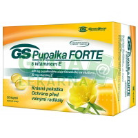 GS Pupalka Forte s vitaminem E 30 kapslí