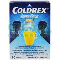 Coldrex Horký nápoj Junior Citron 10 sáčků