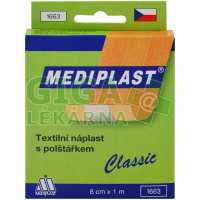 Rychloobvaz Mediplast 8cmx1m textilní 1ks