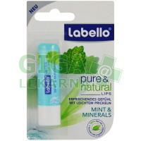 LABELLO Natural MintMineral balzám na rty 4.8g