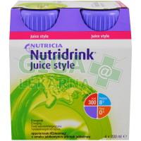 Nutridrink Juice Style 4x200ml Jablko